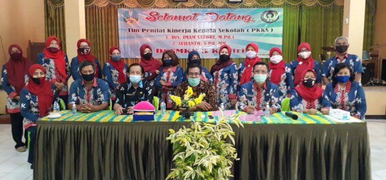Kegiatan Penilaian Kinerja Kepala Sekolah (PKKS) pada tanggal 24 November 2020